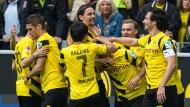 Dortmund auf gutem Kurs Richtung Europa
