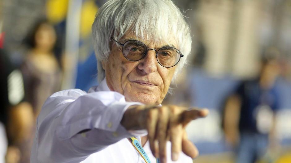 Der ehemalige Pate der Formel 1 feiert an diesem Mittwoch seinen 90. Geburtstag: Bernie Ecclestone.
