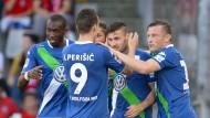 Wolfsburg-Sieg dank Caligiuri-Doppelpack