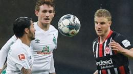 Bundesligaspiel von Bremen und Frankfurt wird verlegt