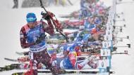 Russischer Biathlet Schipulin: die Athleten dürfen weiter mitwirken, aber der Verband wird nur geduldet
