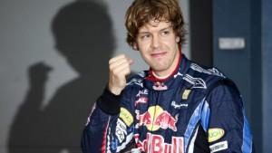 Vettel und das Zittern in jeder Kurve