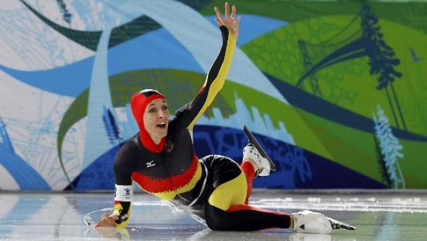 Slapstick-Anni oder Swimming on Ice