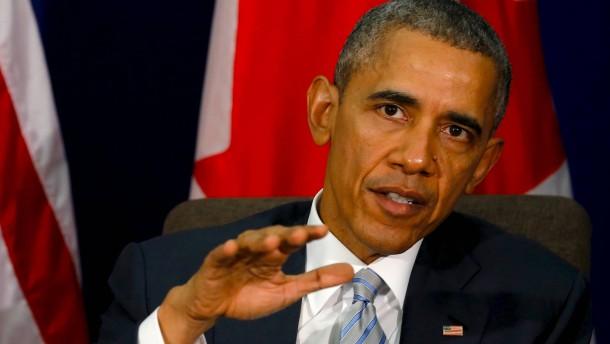 Obama beharrt auf der Entmachtung von Assad