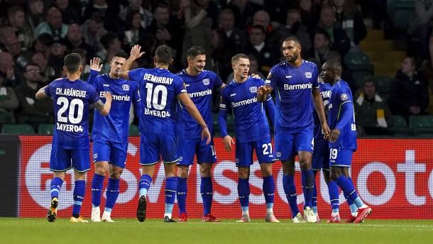 Dominante Leverkusener holen drei Punkte