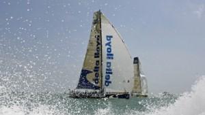 Bilder an Deck bei Sturm: Wie ein Meeresungeheuer