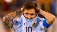 Argentiniens Fußball versinkt im Chaos