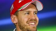 """""""Siege sind die beste Medizin"""": Sebastian Vettel."""