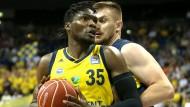 Ansteigende Lernkurve: Landry Nnoko will sich in Berlin für die NBA empfehlen.