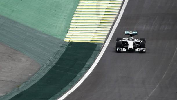 Rosberg hält den Druck hoch