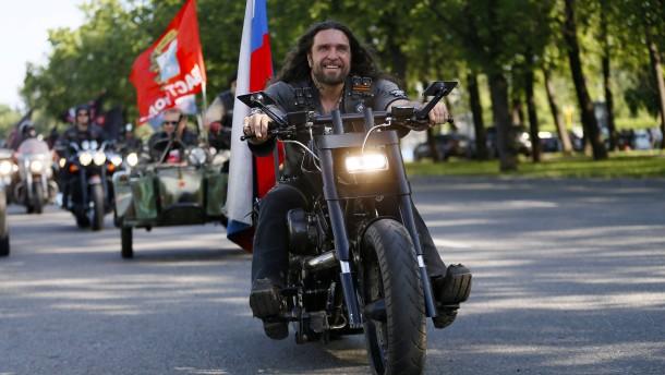 """Moskau kritisiert Berlin wegen Einreiseverbot für """"Nachtwölfe"""""""