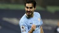 Offensiver Anführer: Ilkay Gündogan bei Manchester City