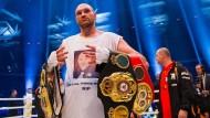 Kampf gegen Depressionen statt im Ring: Tyson Fury gibt seine Titel zurück