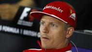 Nicht immer durchschaubar: Wohin zieht es Räikkönen?