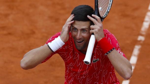 """Die """"Horror-Show"""" endet mit der Corona-Infektion von Djokovic"""