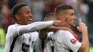 Am Ende durfte Eintracht Frankfurt gegen Stuttgart jubeln.