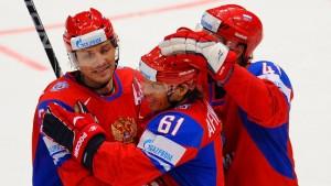 Schweden, Tschechen und Russen im Halbfinale