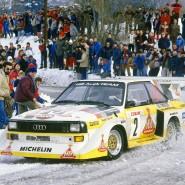 """Damals lag noch Schnee: Walter Röhrl 1986 bei der """"Monte"""""""