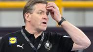 Bundestrainer Alfred Gislason soll auf dem deutschen Handball-Team einen Champion formen.
