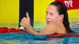Sarah Köhler mit deutschem Rekord zu Silber