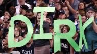 Er wird vermisst werden: Dirk Nowitzki war nicht nur ein Publikumsliebling in Amerika.