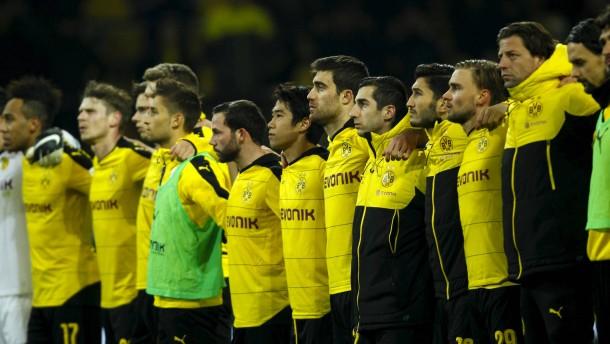 Kein Jubel über den Dortmunder Sieg