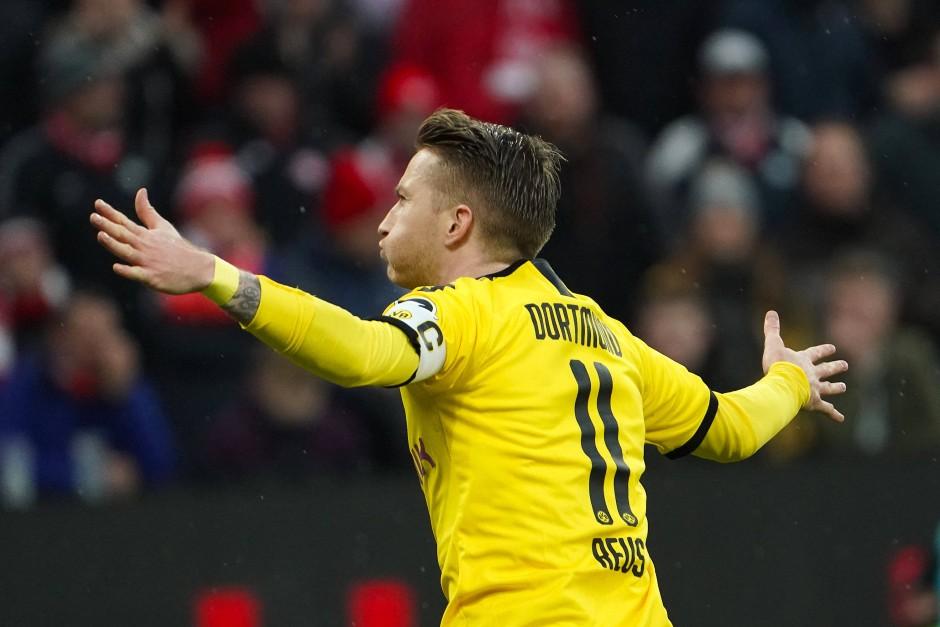 Jubelte über das erste Tor des Spiels: Marco Reus in Mainz