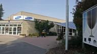 Das Gebäude des Olympiastützpunktes für Fechten in Tauberbischofsheim.