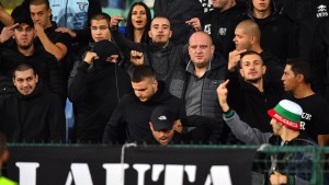 Bulgarische Fußball-Fans festgenommen