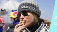 Die Vielseitigkeit ist für sie kein Nachteil: Ester Ledecká gewinnt Snowboard-Gold