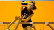 Kommt sie zurück? Christiane Fürst wird bei den deutschen Volleyball-Damen benötigt
