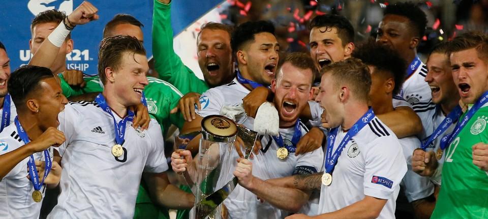 U 21 Nationalmannschaft Von Deutschland Ist Fussball