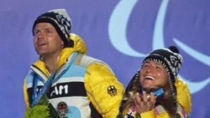 Gold für Biathletin Verena Bentele