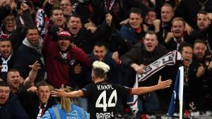 Leverkusen besiegt Remis-Serie