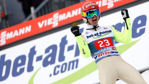 Koivuranta gewinnt Wind-Springen in Innsbruck
