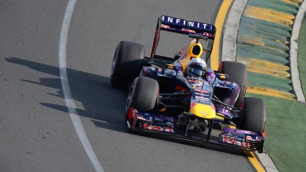 Zwei Bestzeiten für Vettel