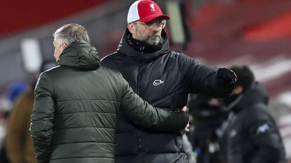 Wieder keine Tore, wieder kein Sieg: Jürgen Klopp nach dem 0:0 im Spitzenspiel gegen Manchester United