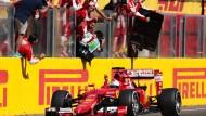 Vettel widmet Sieg in Ungarn dem verstorbenen Bianchi