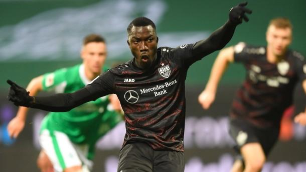 Der VfB ringt Werder Bremen nieder