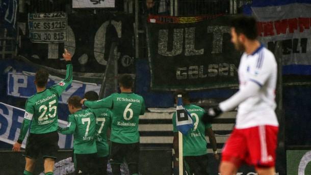 Der HSV rutscht auf den Relegationsrang