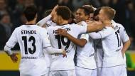Am Ende ist alles gut: M'gladbach gewinnt 3:2 gegen Darmstadt