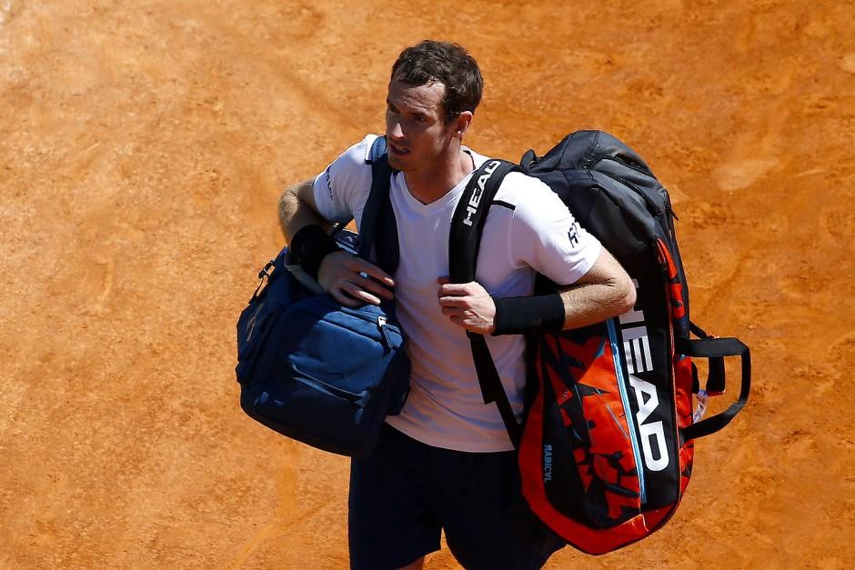 Murray kann einpacken: Aus in der dritten Runde.