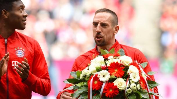 Nur Ribérys Traumtor verzückt die Bayern