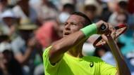 Was kommt da heute? Philipp Kohlschreiber in Wimbledon