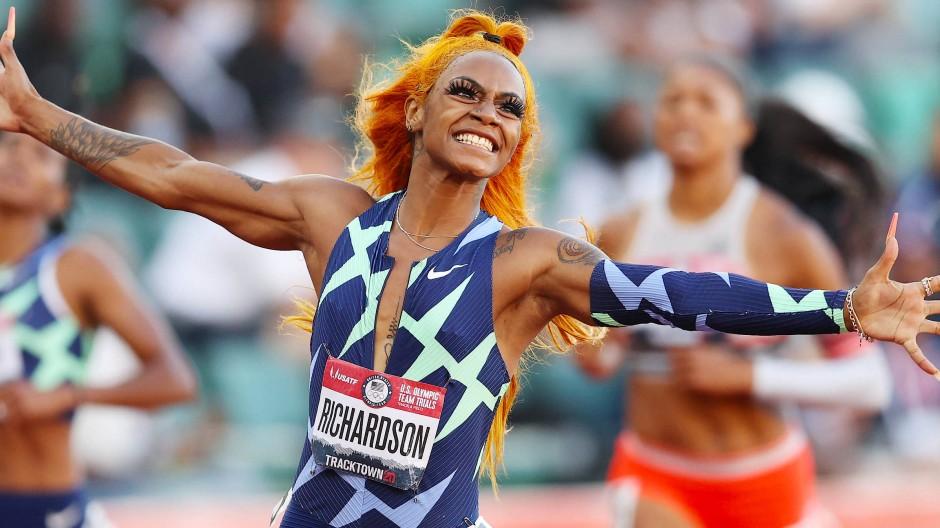 Wurde gesperrt: Sprinterin Sha'Carri Richardson