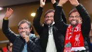 Alles Klopp, oder was? In Liverpool ist die Begeisterung um den Trainer groß.
