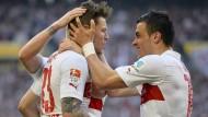 Der VfB gibt die Rote Laterne an den HSV ab