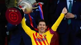 Messi führt Barca zum 31. Pokalsieg