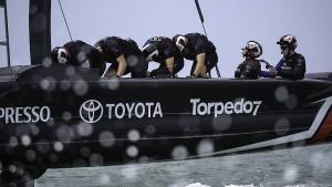 Wie Neuseeland mit einem Tret-Boot gewinnen will