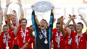 FC Bayern knackt die 100-Tore-Marke